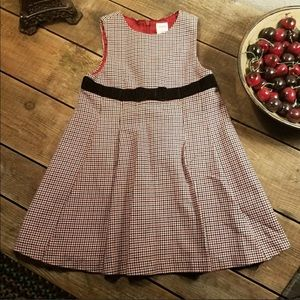 Gymboree Houndstooth Dress 3T